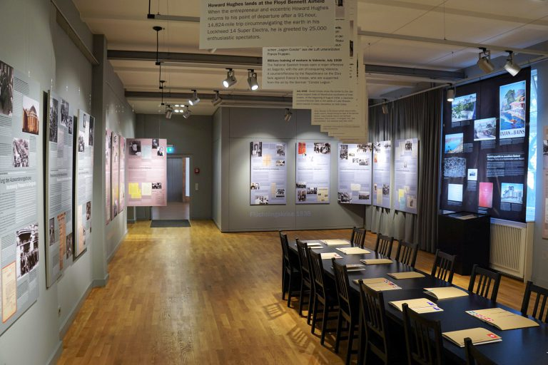 Blick in die Ausstellung TU Berlin/PR/Romina Becker