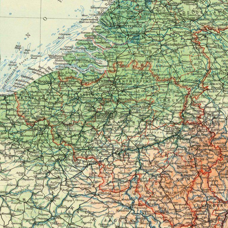 Der Brockhaus-Atlas. Die Welt in Bild und Karte, Leipzig: F. A. Brockhaus 1937