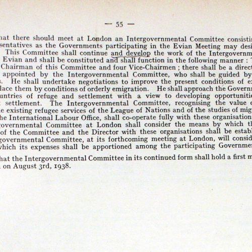 Zwischenstaatliches Komitee für  Flüchtlinge