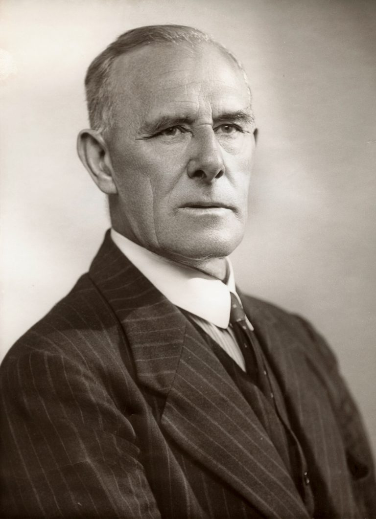Sir Herbert William Emerson, 1941 Photo: Bassano Ltd. / National Portrait Gallery, London
