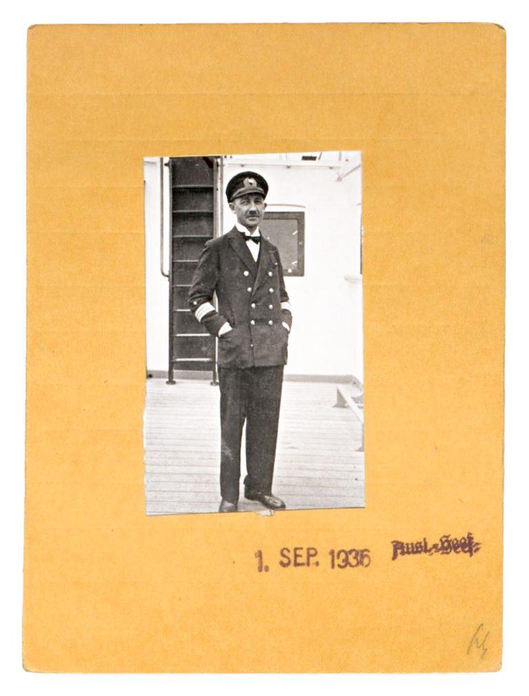 NSDAP-Mitgliedskarte Gustav Schröder, 1933, Rückseite Bundesarchiv, Berlin, R 9361-VIII KARTEI 21200246