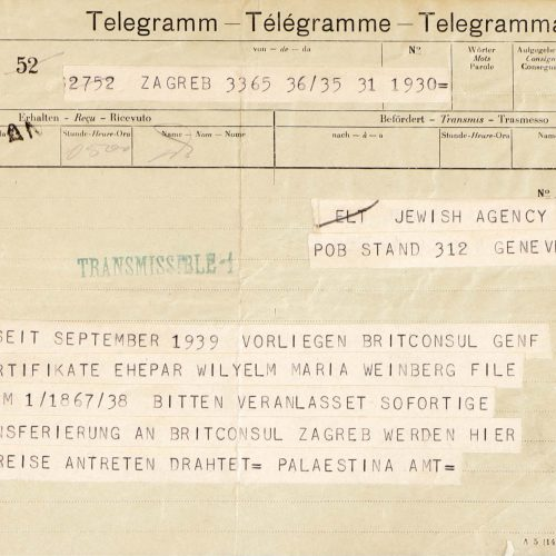 From Swiss Exile to a German Concentration Camp
