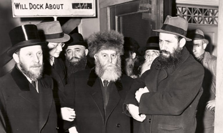 Ankunft Rabbi Schneersohns in New York, 19. März 1940 Chabad Media Center, Brooklyn, NY