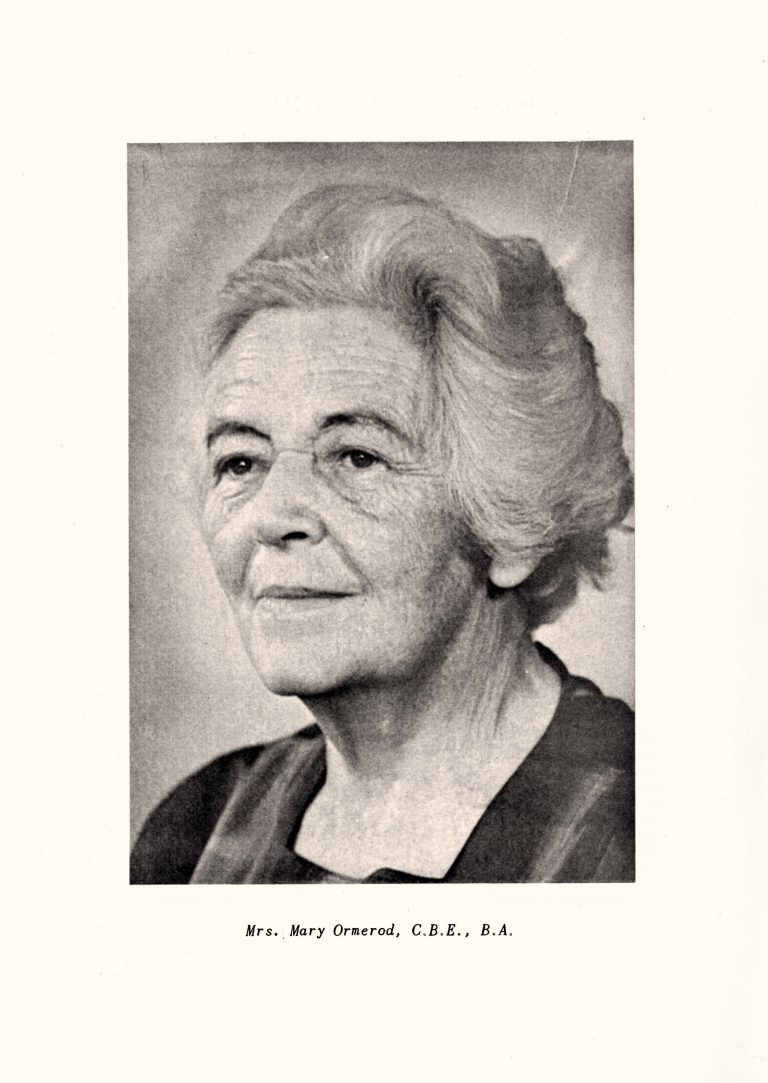 Mary Ormerod, ca. 1960 Hackney Archives, London