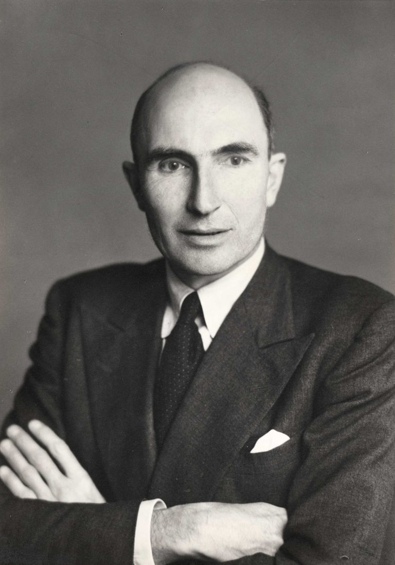 Roger Mellor Makins, 1st Baron Sherfield, August 1949 Foto: Walter Stoneman / National Portrait Gallery, London