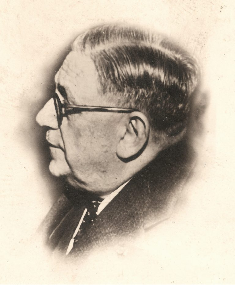 Joseph-Marie Schneider, vermutlich Ende der 1940er-Jahre Privatbesitz