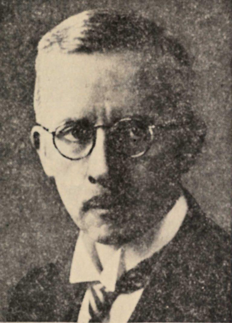Robert Antony Verwey, undatiert PDC Universiteit Leiden