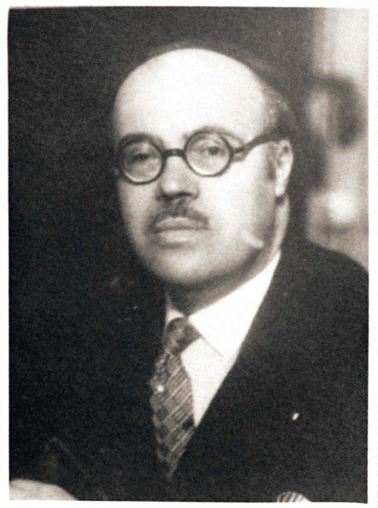 Francisco García Calderón Rey, ca. 1943 Schweizerisches Bundesarchiv, Bern, E2001E#10001571#468