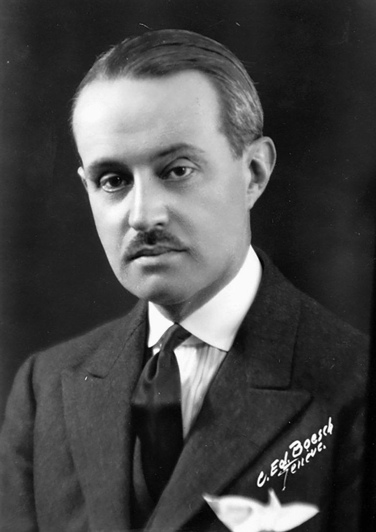 Adolfo Costa du Rels, undatiert Foto: C. Ed. Boesch / United Nations Archives, Genf