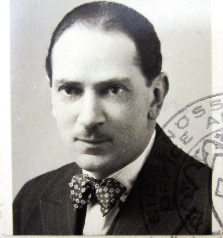Jorge Olinto de Oliveira, um 1938 in der Schweiz Schweizerisches Bundesarchiv, Bern, E8150A#196763#1541