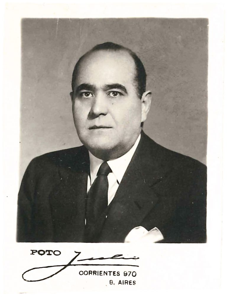 Carlos Alberto Pardo Bidart, ca. 1948 Archives d'État de Genève