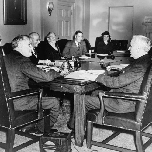 Präsident Roosevelts Ausweg